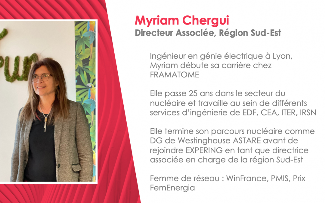 Portrait de Myriam, Business Partner